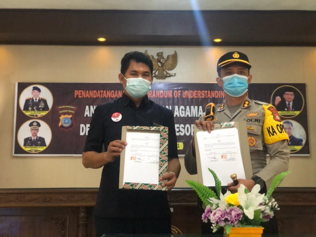 MoU Pengadilan Agama Bungku & Polres Morowali